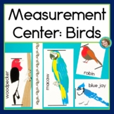 Measurement Centers: Birds, Nonstandard units of measure