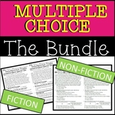 **Multiple Choice & Skill Based Reading Bundle Fiction & N