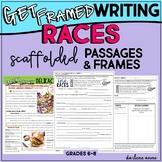 RACES Writing Paragraph Frames Practice