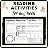 Reading activities for any book
