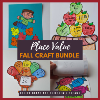 Place Value Activities Fall Bundle