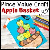 Place Value Activity: Apple Basket Craft