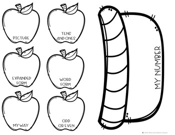 Place Value Activity: Apple Basket Craft