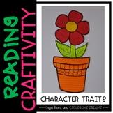 Reading Craftivity: Character Trait Flower