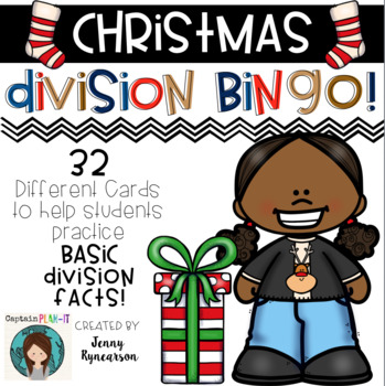 ♦♦♦ Christmas Division BINGO! ♦♦♦  32 different cards!