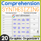 Reading Comprehension: Synthesizing - Distance Learning Ready!