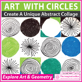 Math and Art Lesson - Circles and Geometry Collage Activity