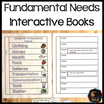 Montessori Fundamental Needs Books