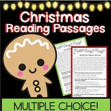Multiple Choice Reading Passages for Christmas