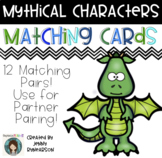 Mythical Characters Matching Cards!
