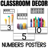 Numbers 1-20 Posters