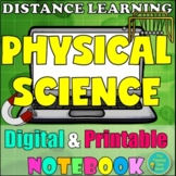 Physical Science Digital Notebook- Distance Learning