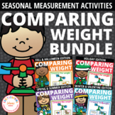 Comparing Weight Activities Bundle | Math & STEM Printable