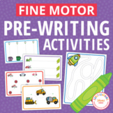 Fine Motor Pre-writing Activities for the Year for Preschool and PreK