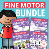 Fine Motor Skills Activities Bundle for Preschool and PreK