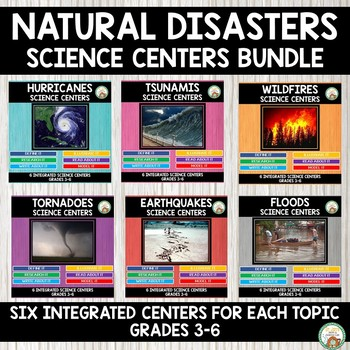 Natural Disasters Science Centers Bundle