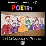 Famous Faces™ of Poetry Classroom Collaborative Poster