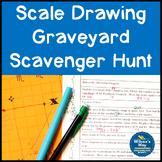 Graveyard Scale Drawing Scavenger Hunt Activity