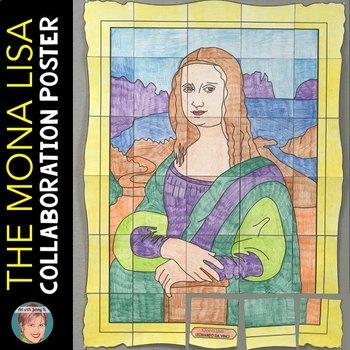 Mona Lisa Collaboration Poster