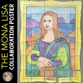 The Mona Lisa by Leondardo Da Vinci Collaboration Poster