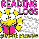Summer Reading Log and Templates