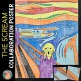 The Scream Collaborative Poster | Fun Halloween Activity