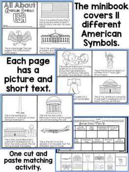 American Symbols Minibook