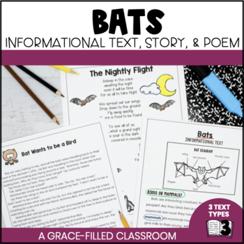 Bats {Informational Text, Story, and Poem}