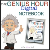 Genius Hour DIGITAL Notebook Google Classroom™ Microsoft Teams