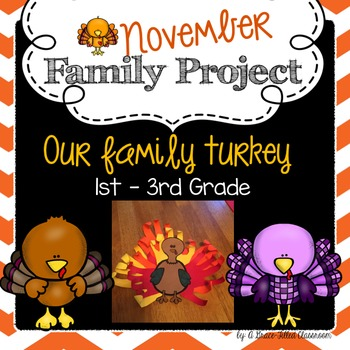November Family Project: Our Family Turkey