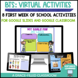 Back to School Virtual Activities