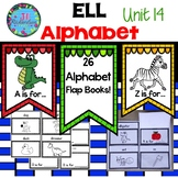 ESL Newcomer Alphabet Interactive Printables (Editable) ELL Resources