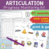 Articulation Progress Monitoring Kit