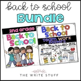 Back to School Team Work Bundle