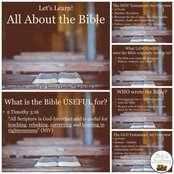 Bible Differentiated Activities for Elementary Students