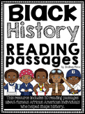 Black History Month Reading Passages