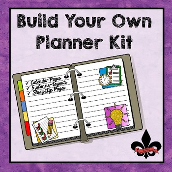 Build Your Own Planner Kit