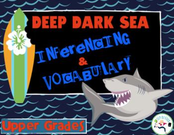 Inferencing & Vocabulary - Shark Adventure