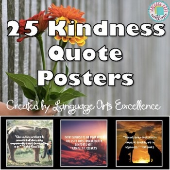 Kindness Quote Posters