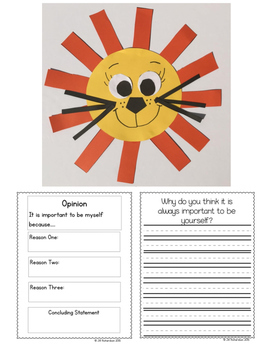 March Activities  Lion Craft! (Use with any lion book!)