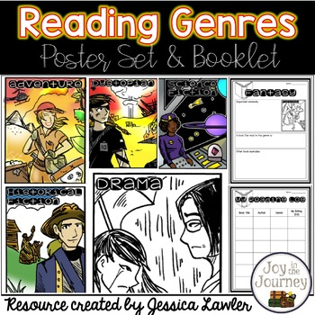 Reading Genres Posters and Student Booklet