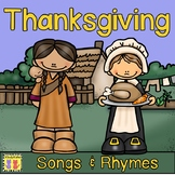 Thanksgiving Songs and Rhymes