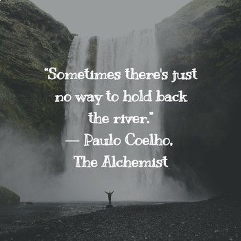 The Alchemist Quote Posters