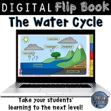 The Water Cycle Digital Flip Book Activity