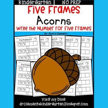 Acorns (Five Frames)