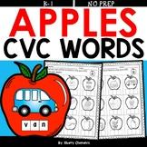 Apple CVC Words (Write the Word)