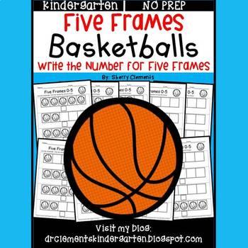 Basketballs (Five Frames)