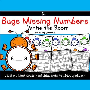 Bugs Write the Room (Missing Numbers 0-10)