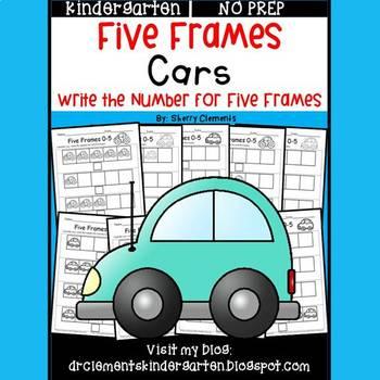 Cars (Five Frames)