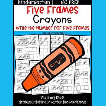Crayons (Five Frames)